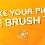 Take your Pick die brush tip Stampin