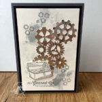 Geared up garage Card Amanda Fowler Inspiring Inkin' Stampin' Up! UK