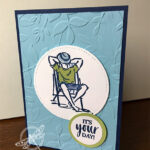 A Good man card Stampin