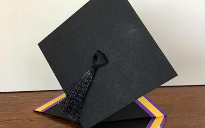 Graduation Cap Card Video