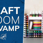 Craft Room Storage Revamp Stampin