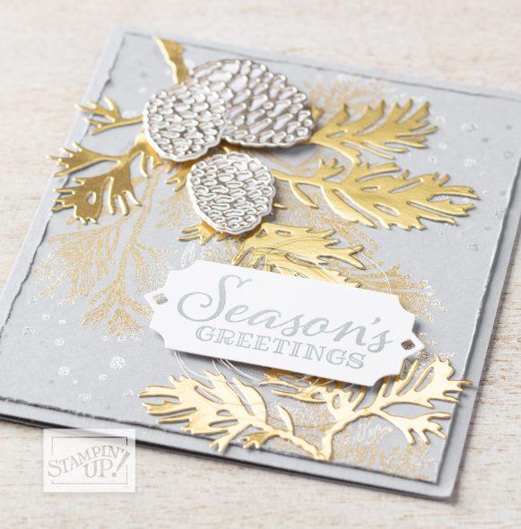 Extreme Christmas Card Class Inspiring Inkin' Amanda Fowler Stampin' Up! UK
