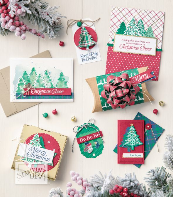 Christmas Classes Inspiring Inkin Amanda Fowler Stampin' Up! UK