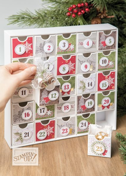 Christmas Countdown Class Inspiring Inkin' Amanda Fowler Stampin' Up! UK