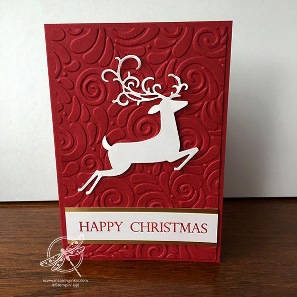 Detailed Deer Christmas Card