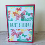 Butterfly Gala Card Stampin