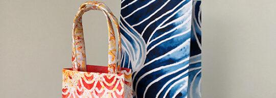 Fold Flat Gift Bag Video 1 Amanda Fowler Inspiring Inkin' Stampin' Up! UK
