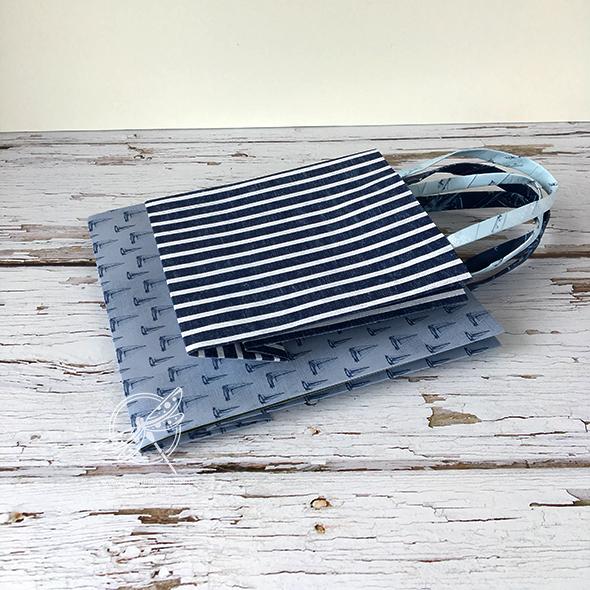 Easy Fold Flat Gift bags Amanda Fowler Inspiring Inkin Stampin' Up! UK