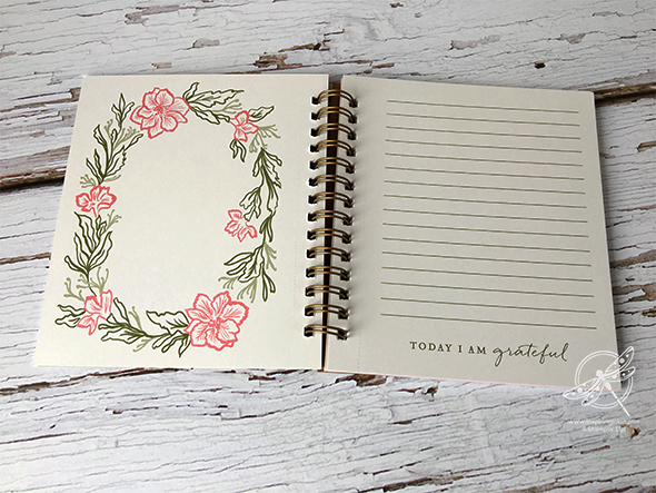 Pressed Petals Notebook Video Stampin' Up! Uk Inspiring Inkin' Amanda fowler