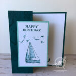 Sailing Home Birthday card Stampin