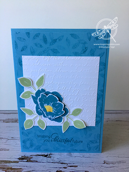 Floral Essence Birthday Card Stampin' Up! UK Inspiring Inkin' Amanda Fowler