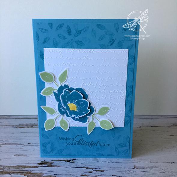 Floral Essence Wedding Card