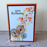Dandelion Wishes Birthday card Stampin