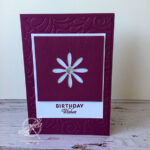 Dandelion Wishes Birthday card Stampin