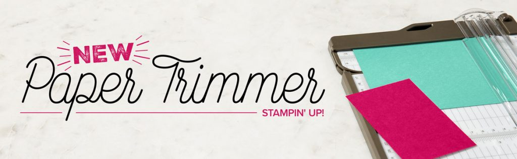 New Trimmer Stampin' Up! UK Inspiring Inkin' Amanda Fowler