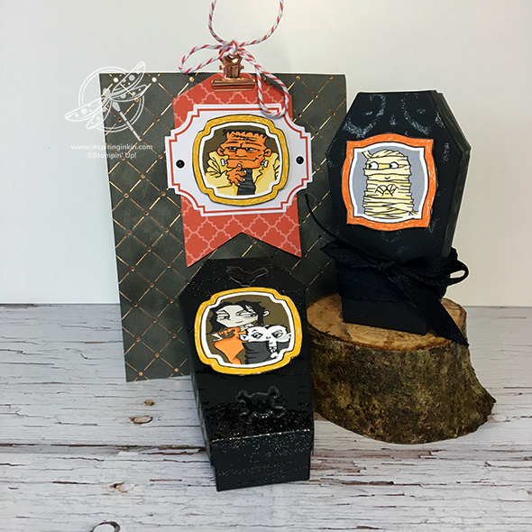 Halloween Treat Boxes and Bags Video