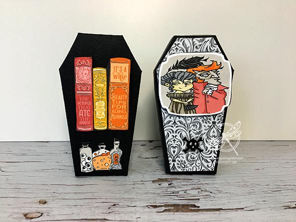 Halloween Treat boxes Stampin up UK Amanda Fowler Inspiring Inkin