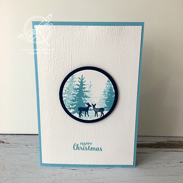Snow Front Christmas Card