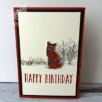 Natures Beauty Fox Card Stampin