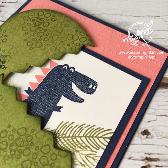 Dino Days Crad Stampin' Up! Uk Amanda Fowler Inspiringinkin