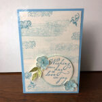 Woven Heirlooms Wedding Card Stampin