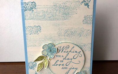 Woven Heirlooms Wedding Card