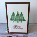 Perfectly Plaid Christmas Card Stampin