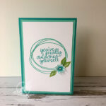 Sweetly Swirled Congratulations Card Stampin