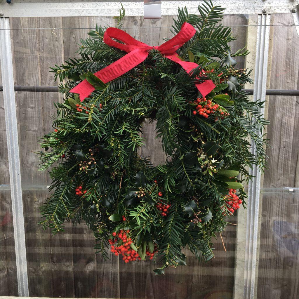 Christmas Wreath Amanda Fowler Inspiring Inkin Stampin' Up! UK