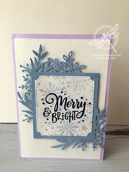 Everything Festive Christmas Card Stampin' Up! Uk Inspiring Inkin' Amanda Fowler