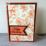 Magnolia Blooms Birthday card Stampin