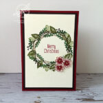 Christmas Wreath Card Video Stampin