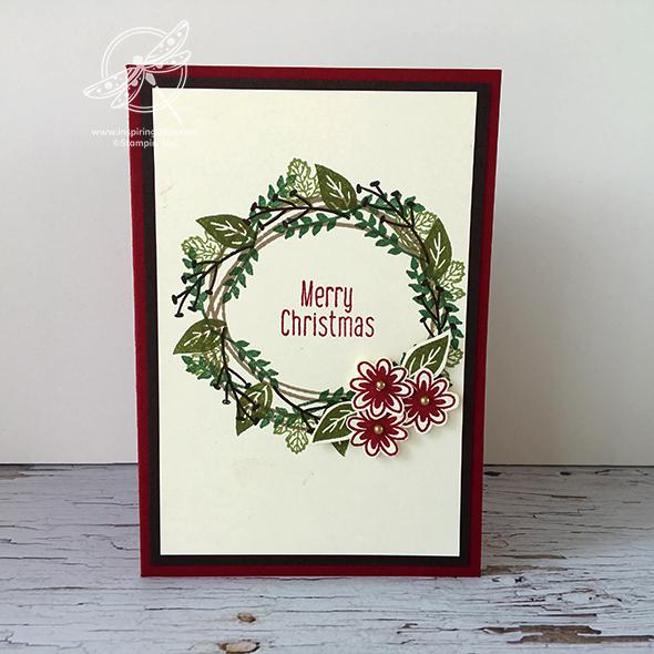 Christmas Wreath card Video