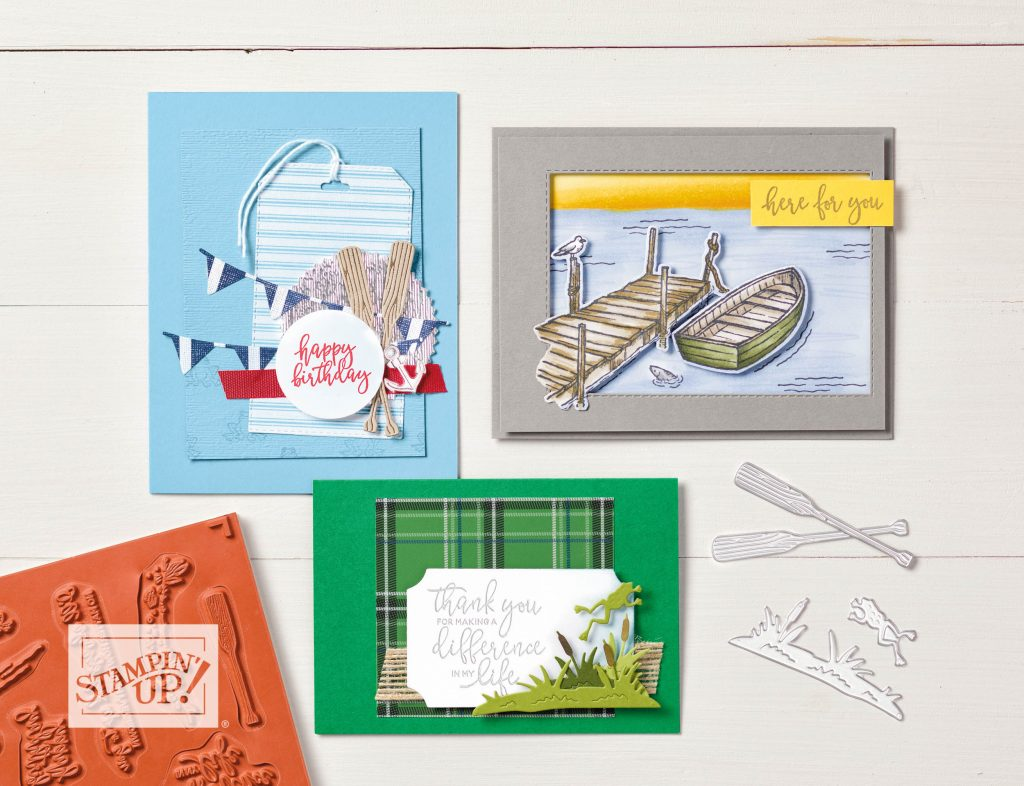 Stampin' Up! UK By the Dock  Sarah Keerie