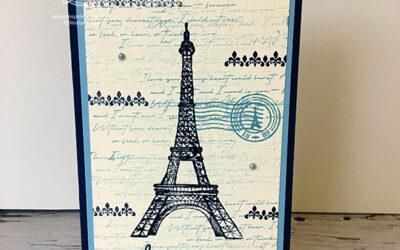 Parisian Beauty Valentines Card