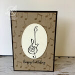 Music From the Heart Card Stampin