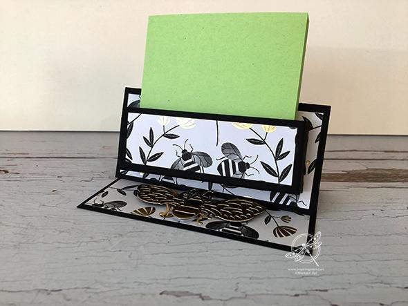 Honey Bee Sticky Note Holder Video Stampin' Up! Uk Inspiring Inkin' Amanda Fowler