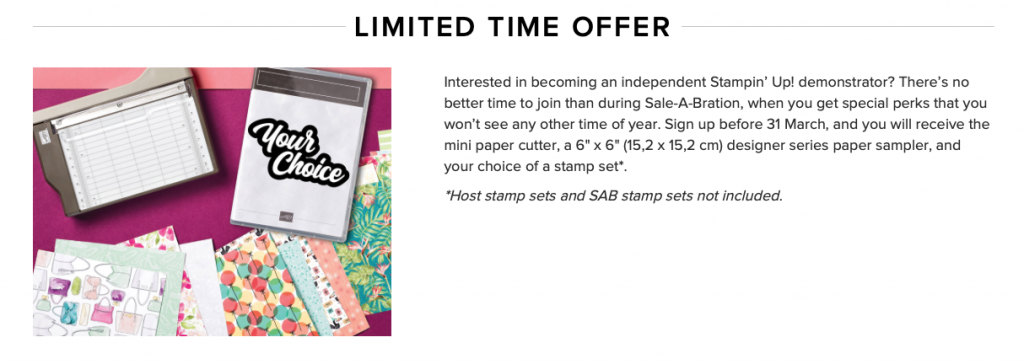 Join SAB Inspiring Inkin' Stampin' Up! Uk Amanda Fowler