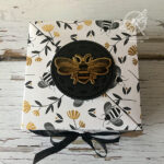 Diagonal Bee Gift Box Video Amanda Fowler Inspiring Inkin