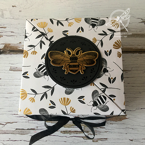 Diagonal Bee Gift Box Video