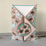ZigZag Gatefold card Video Amanda Fowler Inspiring Inkin