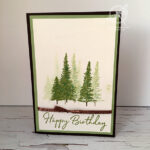 Mountain Air Birthday Card Stampin