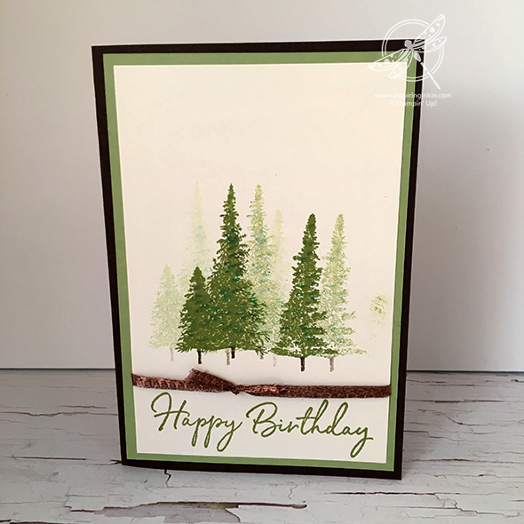 Mountain Air Birthday Card
