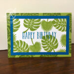 Tropical Chic Birtdhay Card Stampin