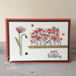 Painted Poppies Card Stampin