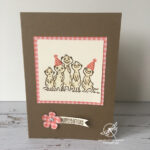 Meerkats Birthday Card Stampin