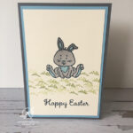 Welcome Easter Bunny Card Stampin