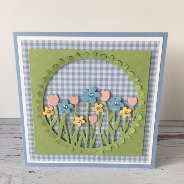 Sending Flowers Card Stampin' Up! Uk Inspiring Inkin' Amanda Fowler