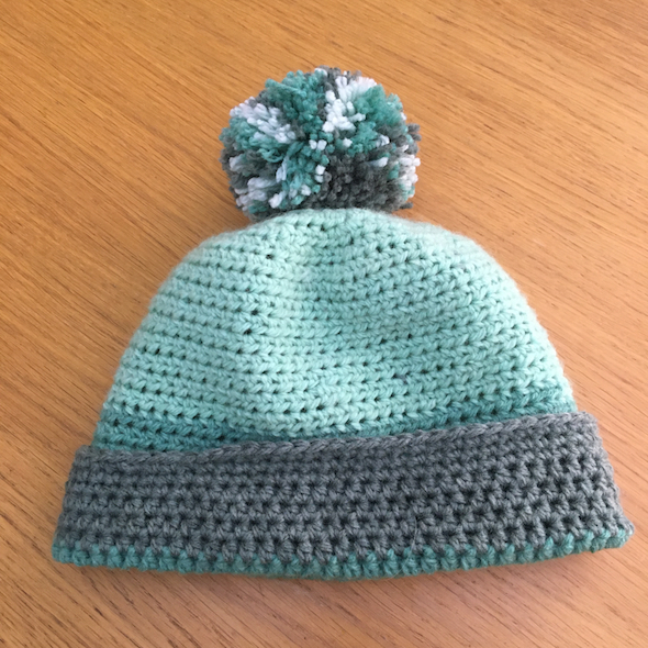 Crochet Hat Stampin' Up! UK Amanda Fowler Inspiring Inkin'