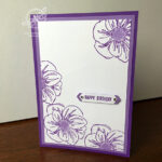 Floral Essence Birtdhay Card Stampin